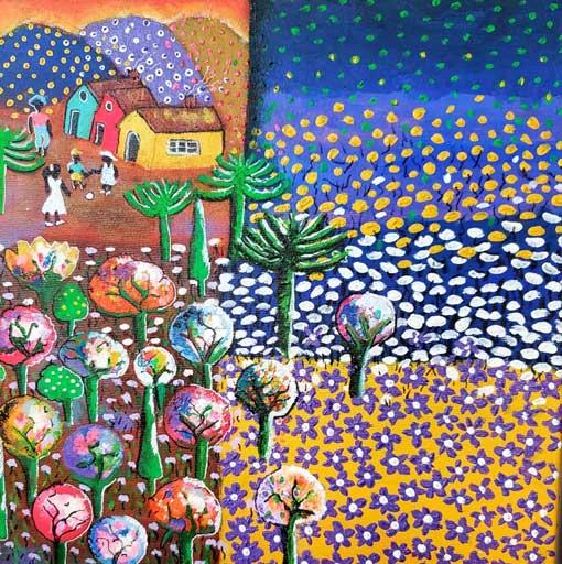 Granja colorida - LIDIA SACZKOVSKI DE SOUZA - Brasil