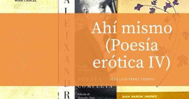 Diversos libros de poesía erótica