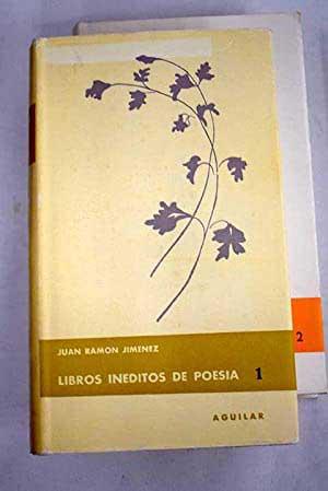 Portada libro poesía de Juan Ramon Jiménez