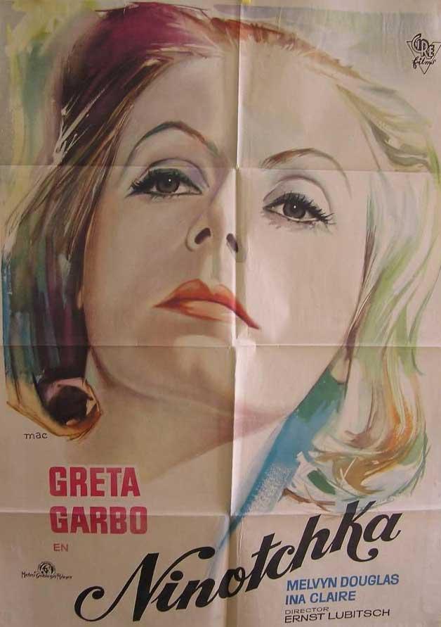 Cartel de MAC de la película Ninotchka