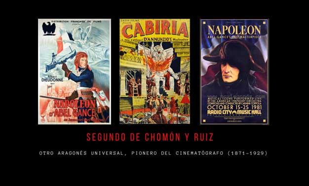 Tríptico de películas de SEGUNDO DE CHOMÓN Y RUIZ