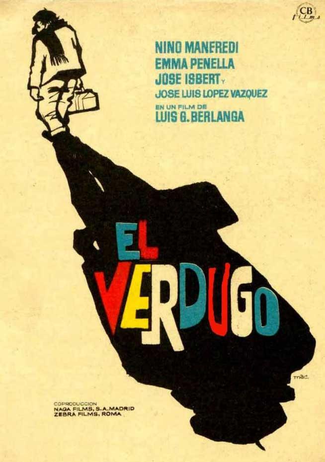 Cartel de la película El verdugo