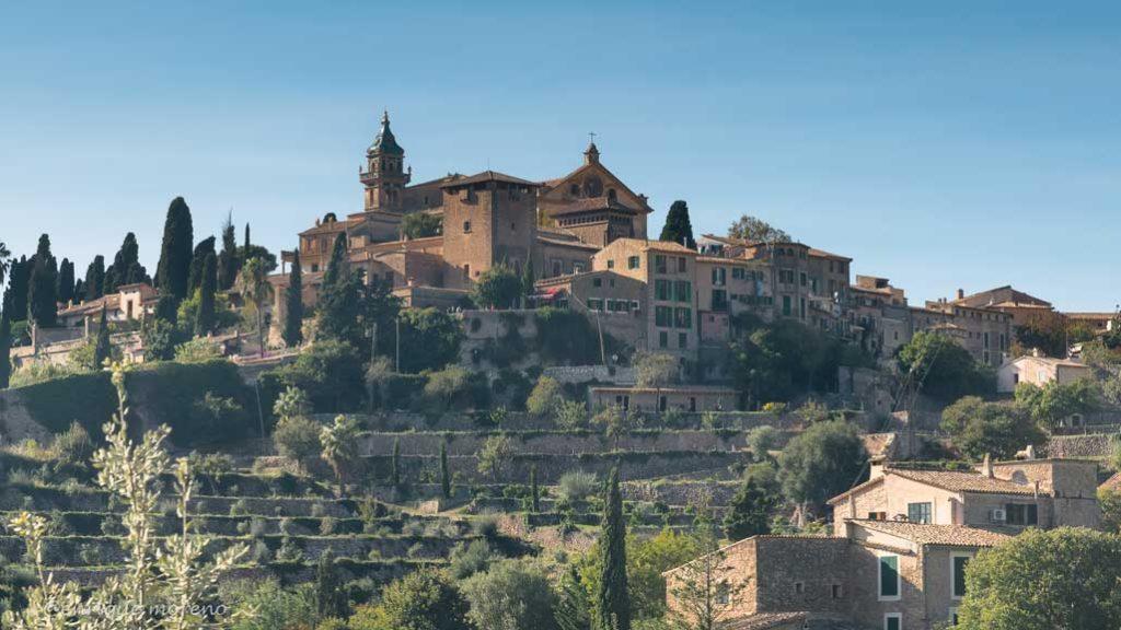 Monasterio de la Cartuja en Valldemossa en Mallorca