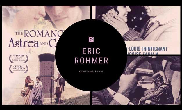 Diversos carteles de películas de Eric Rohmer