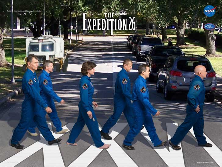 como esta imagen de la Expedición 26 de la Estación Espacial Internacional