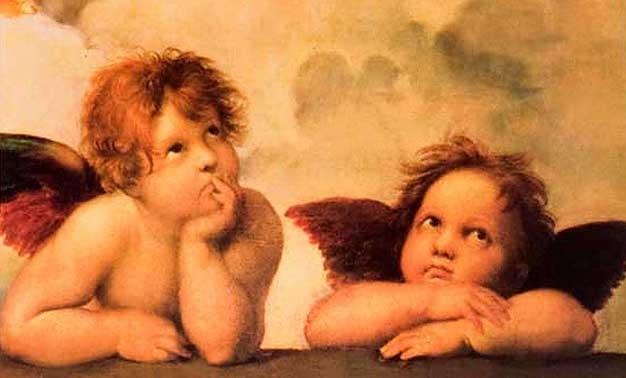 Los ángeles tienen cabello de sopa