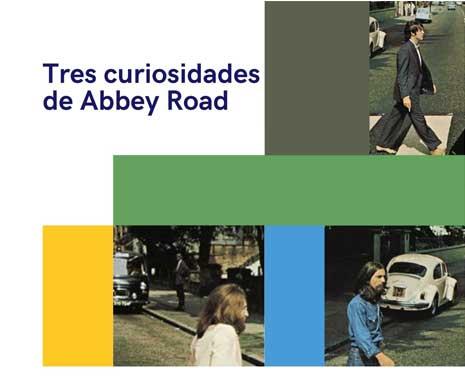Tres curiosidades de abbey road