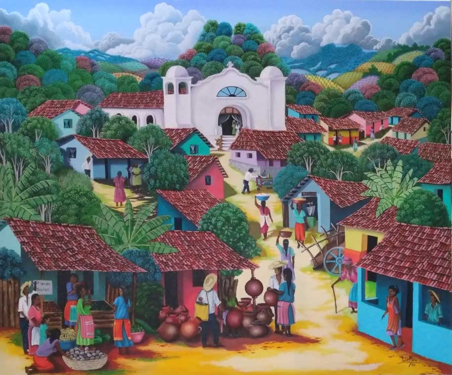 Mi pueblo – LUIS MINA – El Salvador