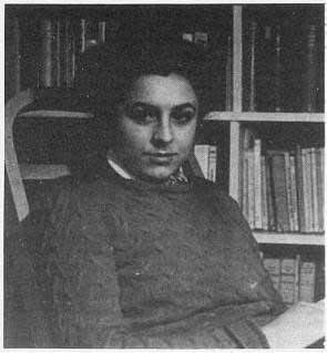 Marie Louise Berneri de joven