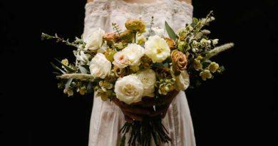 Ramo flores de una novia