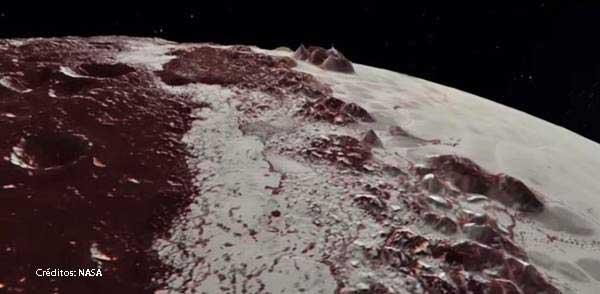 Emisiones de rayos X de Plutón