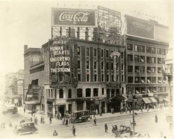 Primera valla publicitaria de Coca Cola en Times Square