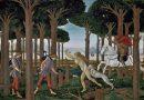 Interpretación de Botticelli de una de las historias del Decamerón.