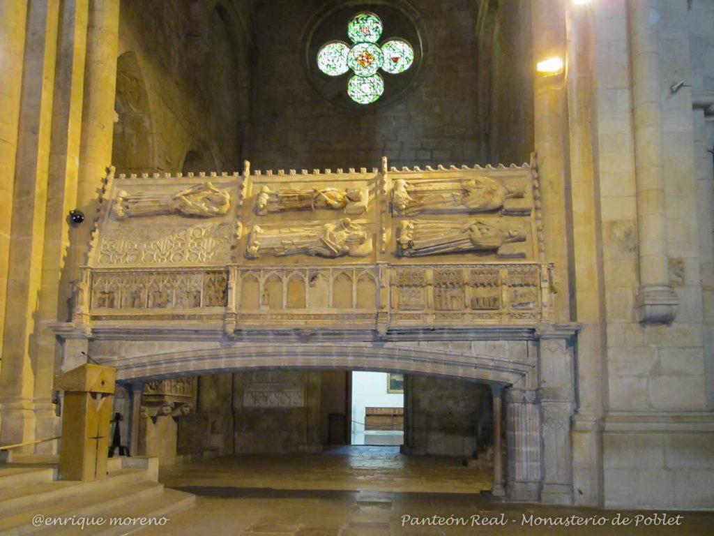 Panteón real del Monasterio de Poblet