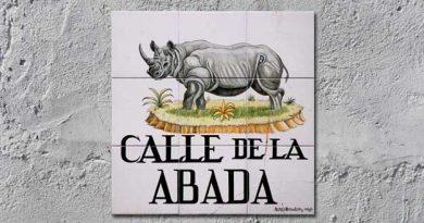 Calle de la Abada en Madrid