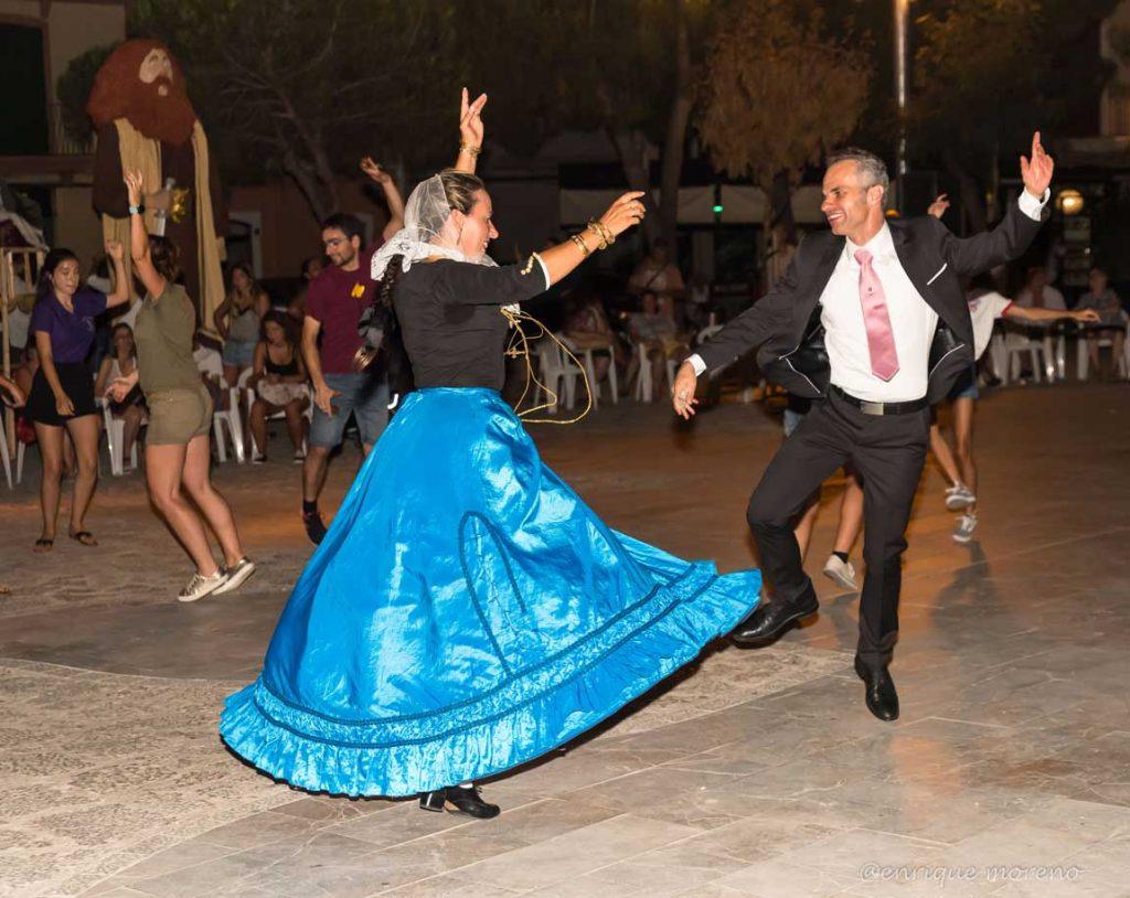 baile popular de 'Ses Madones' y los 'Obrers'