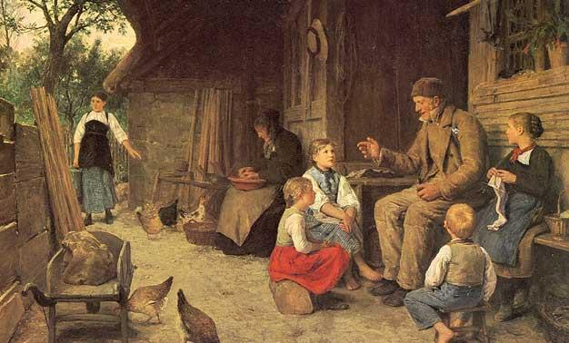 Pintura alemana de 1884