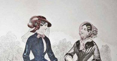 dos damas de 1800