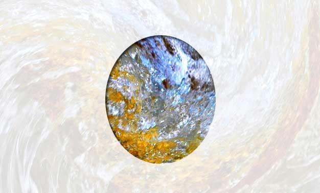 Detalle de la fotografía agua hacia el oro. Serie fotográfica de Felipe Espílez Murciano